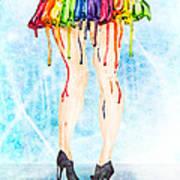 Stage Legs Art Print
