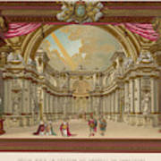 Stage-set Designs For  Productions Art Print