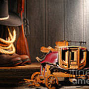 Stagecoach Dream Art Print