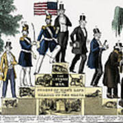 Stages Of A Mans Life  1848 Art Print