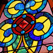 Stain Glass Art Print by Thomas Fouch