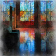 Stained Glass 01 Photo Art Art Print
