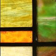 Stained Glass 5 Art Print by Tom Druin