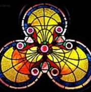 Stained Glass  Art Print by Chris Berry
