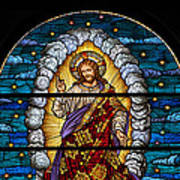 Stained Glass Pc 03 Art Print