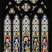 Stained-glass Window 1 Art Print