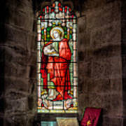 Stained Glass Window 2 Art Print