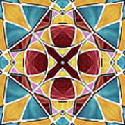 Stained Glass Window 5 Art Print