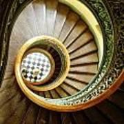 Stairs To Nowhere Art Print