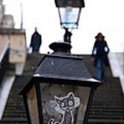 Stairs To Sacre Coeur2 Art Print