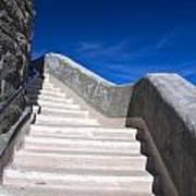 Stairway At Mount Diablo State Park Art Print