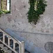 Stairway To Alcatraz Art Print