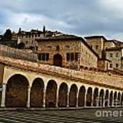 Stairway To Assissi Art Print