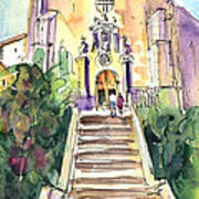 Stairway To Heaven In Llansa Art Print