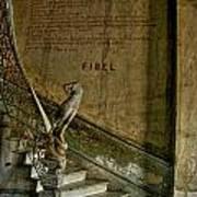 Stairway To La Guarida Art Print