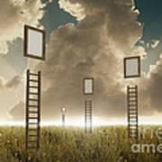 Stairway To Sky Art Print