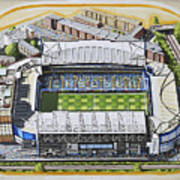 Stamford Bridge - Chelsea Art Print