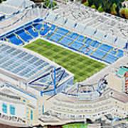 Stamford Bridge Stadia Art - Chelsea Fc Art Print