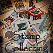 Stamp Colleting Art Print
