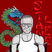 Stan Lee Art Print by Gary Niles