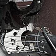Standup Bass At Rest Art Print