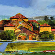 Stanford Chapel Art Print