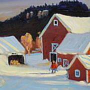 Stanley Kay Farm Art Print