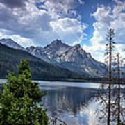 Stanley Lake View Art Print