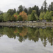 Stanley Park In Vancouver Bc Canada Art Print
