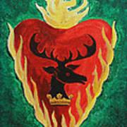 Stannis Baratheon Art Print