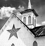 Star Barn Infrared Art Print
