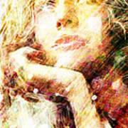 Star Eyes Art Print