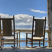 Star Island Rocking Chairs Art Print