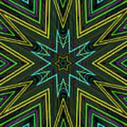 Star Of Threads Art Print