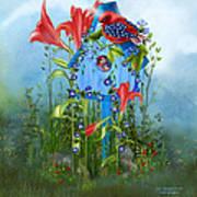 Star Spangled Birdie Art Print