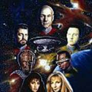 Star Trek Tng Art Print