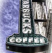 Starbucks - Ballard Art Print