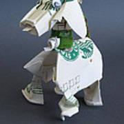 Starbucks Dog Art Print