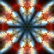 Starburst Galaxy M82 IIi Art Print