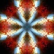 Starburst Galaxy M82 V Art Print
