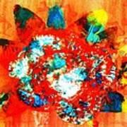 Starburst Nebula Art Print