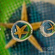 Starfish Refraction Art Print