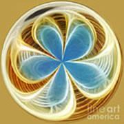 Starfish To Flower - Orb 2 Art Print