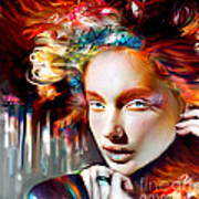 Stargirl I Bleed Color Art Print