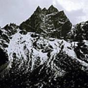 Stark Himalayas Art Print