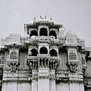 Stark Udaipur Art Print