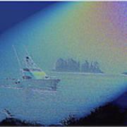 Starlight Cruising Art Print
