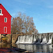 Starr's Mill In Senioa Georgia Art Print