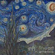 Starry Night Copy 8 Art Print