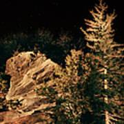 Starry Night In The Blue Ridge Art Print
